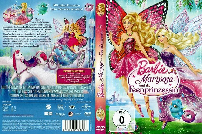 barbie mariposa und die feenprinzessin dvd oder blu ray. Black Bedroom Furniture Sets. Home Design Ideas