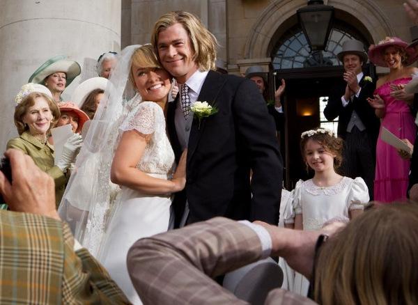 Olivia Wilde und Hemsworth in 'Rush'