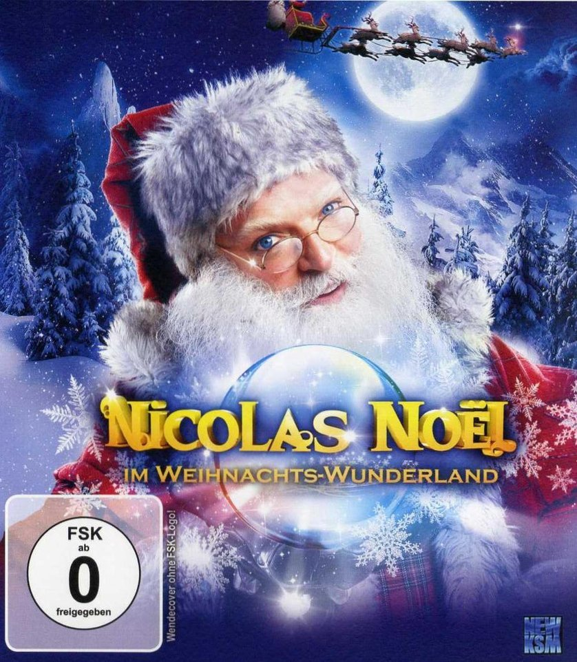 nicolas no l im weihnachts wunderland dvd oder blu ray. Black Bedroom Furniture Sets. Home Design Ideas