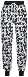 Micky Maus Face Pyjama-Hose schwarz weiß powered by EMP (Pyjama-Hose)
