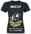 Cupcake Cult Ninja Cat powered by EMP (T-Shirt)