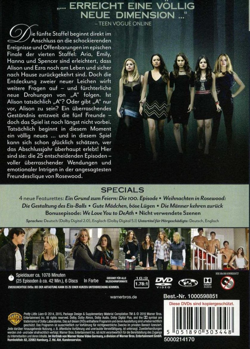 pretty little liars staffel 2 online
