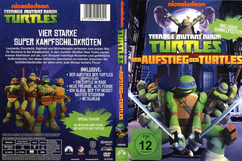 Teenage Mutant Ninja Turtles  Der Aufstieg der Turtles DVD oder