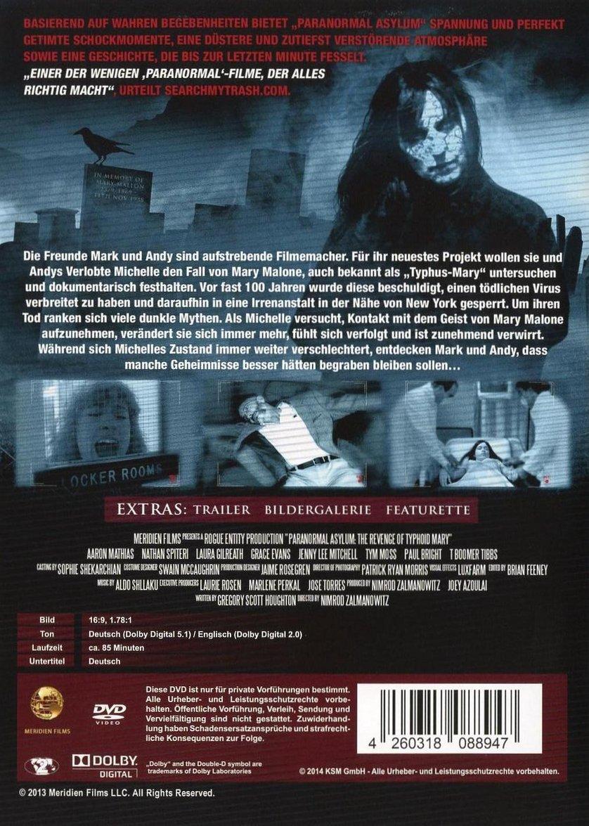 Paranormal Asylum Stream