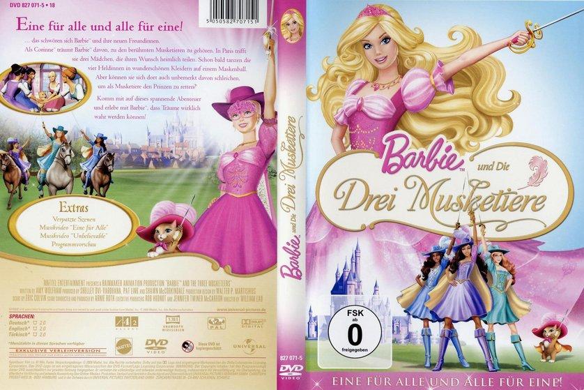 barbie und die drei musketiere dvd oder blu ray leihen. Black Bedroom Furniture Sets. Home Design Ideas