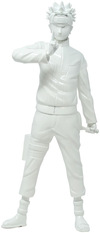 Naruto Shippuden - The Will of Fire - The Epic Ninja Statue White powered by EMP (Statue)