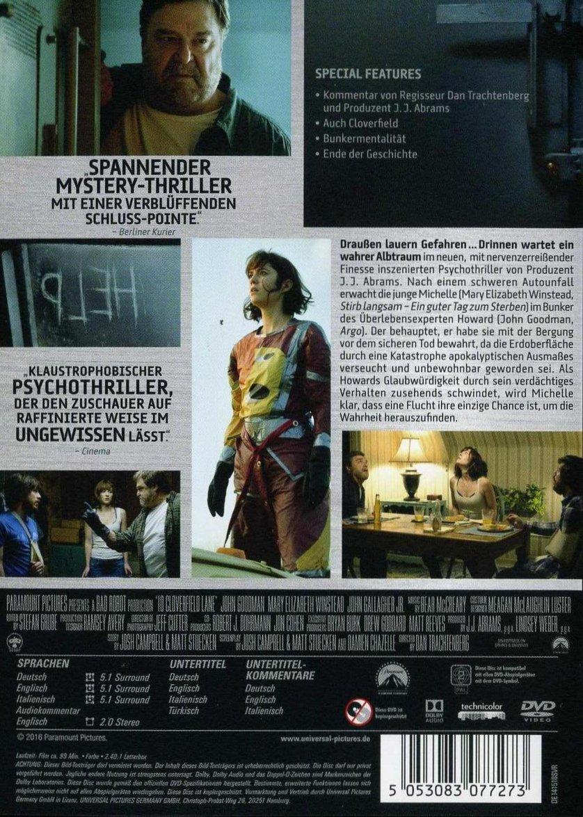 10 Cloverfield Lane Dvd Oder Blu Ray Leihen Videobuster De