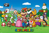 Super Mario Characters powered by EMP (Poster)