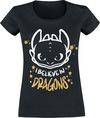 Drachenzähmen leicht gemacht Ohnezahn - I Believe In Dragons powered by EMP (T-Shirt)