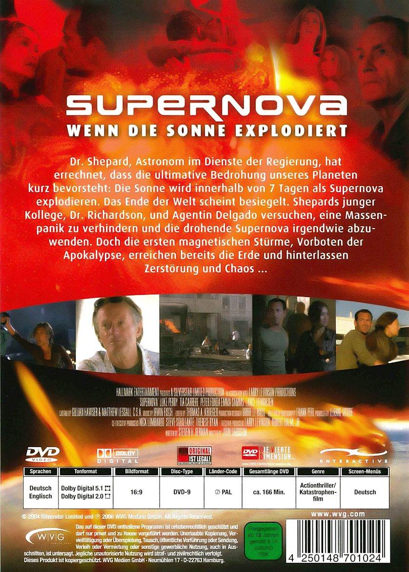 Supernova Wenn Die Sonne Explodiert