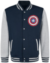 The Falcon And The Winter Soldier Who Will Wield The Shield? Collegejacke navy grau powered by EMP (Collegejacke)