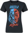Godzilla Godzilla & King Kong powered by EMP (T-Shirt)