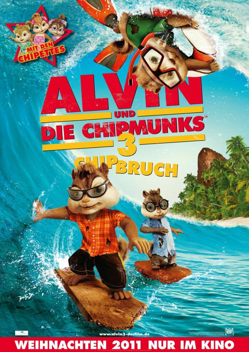 alvin und die chipmunks 3 dvd oder bluray leihen