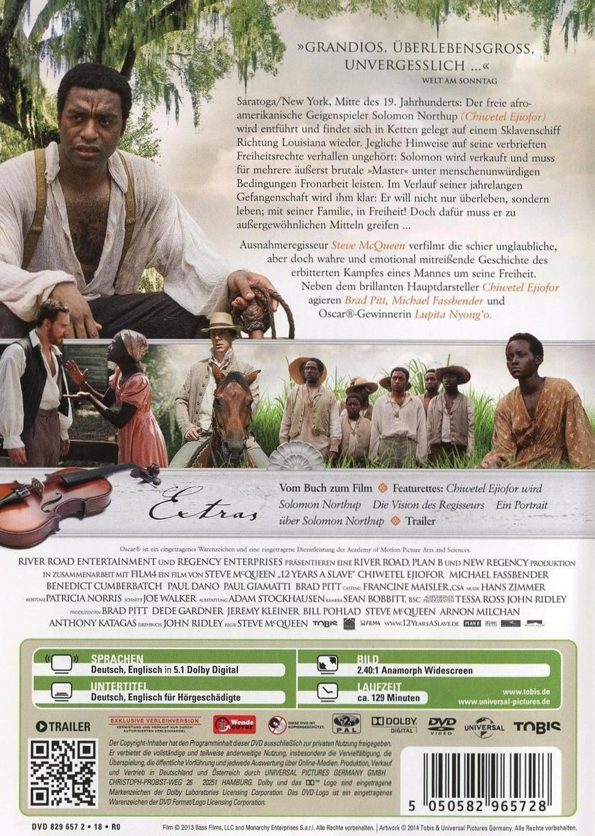 12 Years A Slave Stream Deutsch