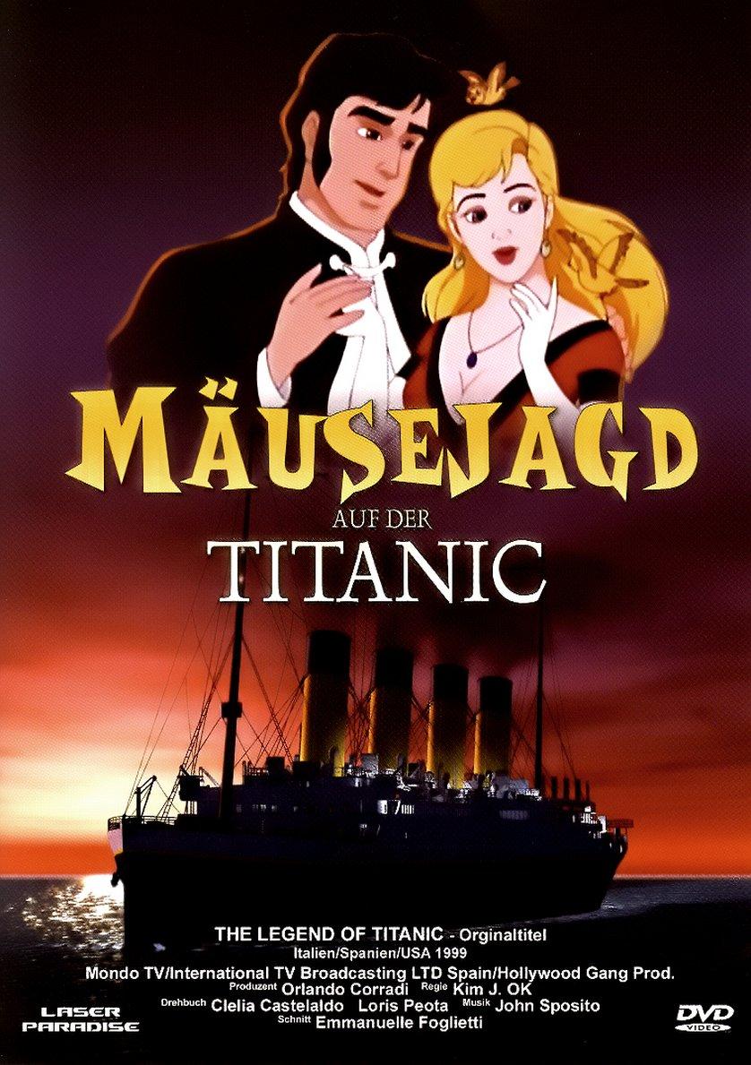 Die Legende von Titanic - Mäusejagd auf der Titanic: DVD