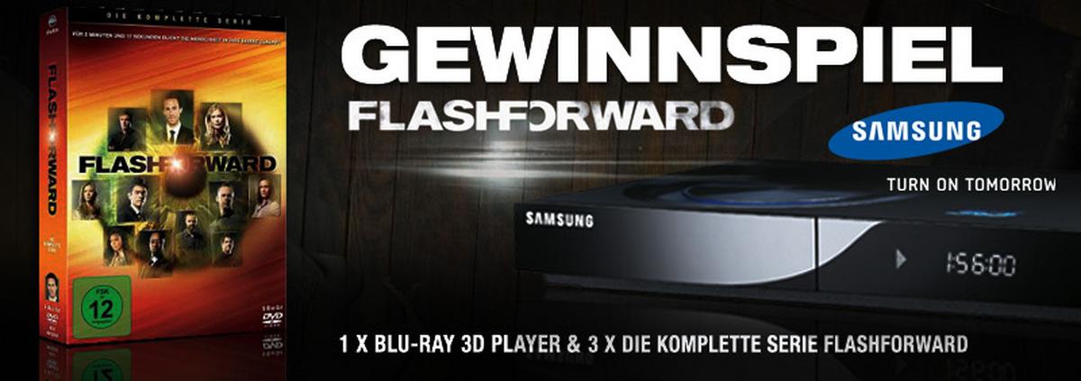 Serien-Special mit Gewinnspiel: FlashForward: Geht ein 3D Blu-ray Player an Sie?