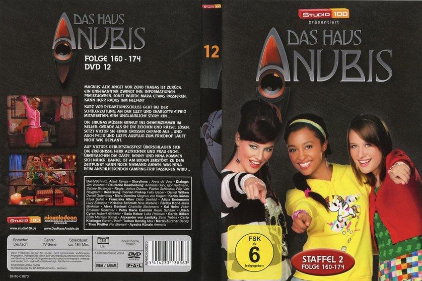 Das Haus Anubis Staffel 2 DVD oder Blu ray leihen