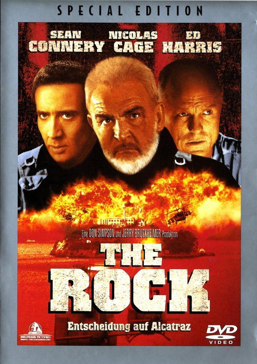 the rock  dvd oder blu-ray leihen