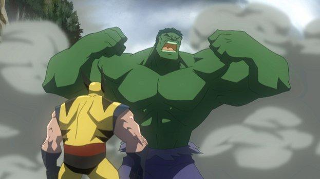 Hulk vs. Thor & Wolverine