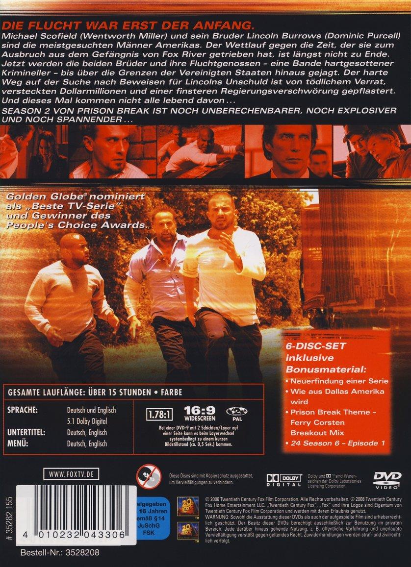 Prison Break Staffel 2 Dvd Oder Blu Ray Leihen