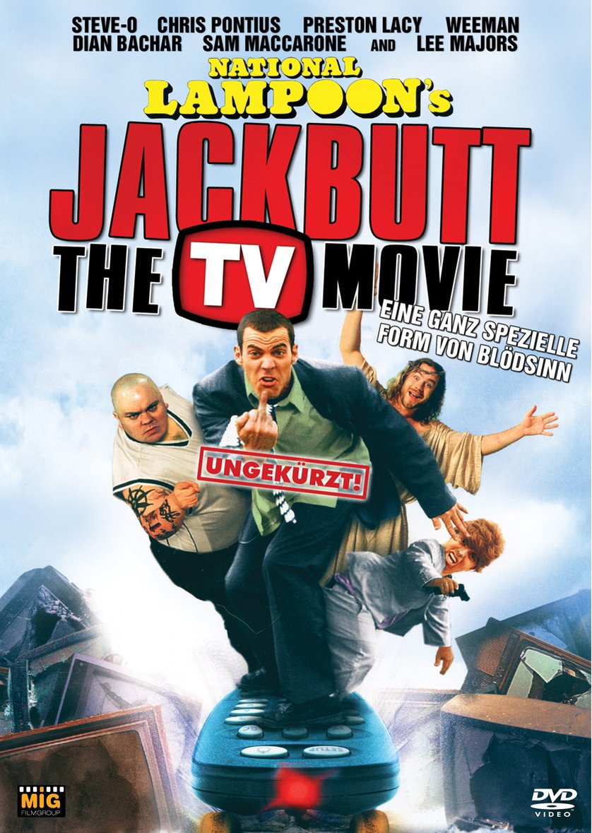 national lampoons jackbutt the tv movie dvd oder blu