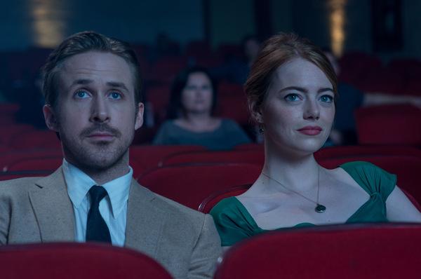 Ryan Gosling und Emma Stone in 'La La Land'