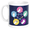 The Big Bang Theory Spock powered by EMP (Tasse)