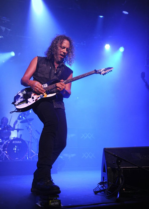 Kirk Hammett legt los
