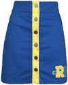 Riverdale Riverdale High Mittellanger Rock blau gelb powered by EMP (Mittellanger Rock)