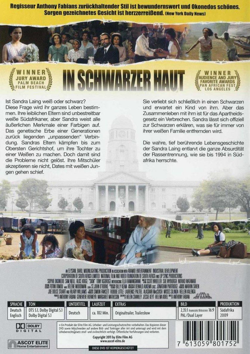 In Schwarzer Haut Dvd Blu Ray Oder Vod Leihen Videobusterde