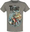 Thor The Mighty Thor - Comic Cover powered by EMP (T-Shirt)
