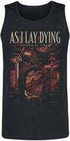 As I Lay Dying Shaped By Fire powered by EMP (Tank-Top)