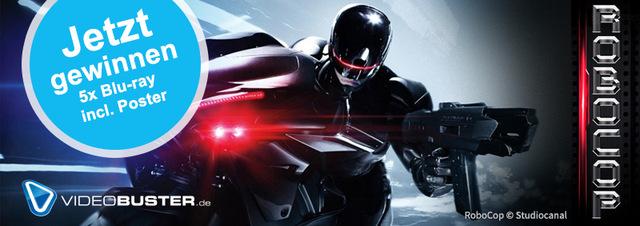 RoboCop-Gewinnspiel: RoboCop für Zuhause: Jetzt gibt's Blu-rays zu gewinnen!