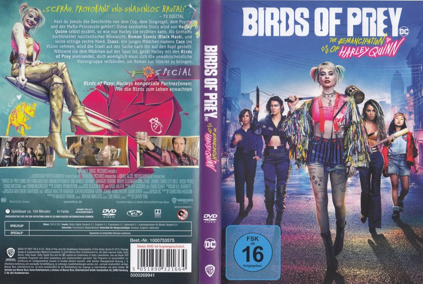 Birds Of Prey Dvd Blu Ray Oder Vod Leihen Videobuster De