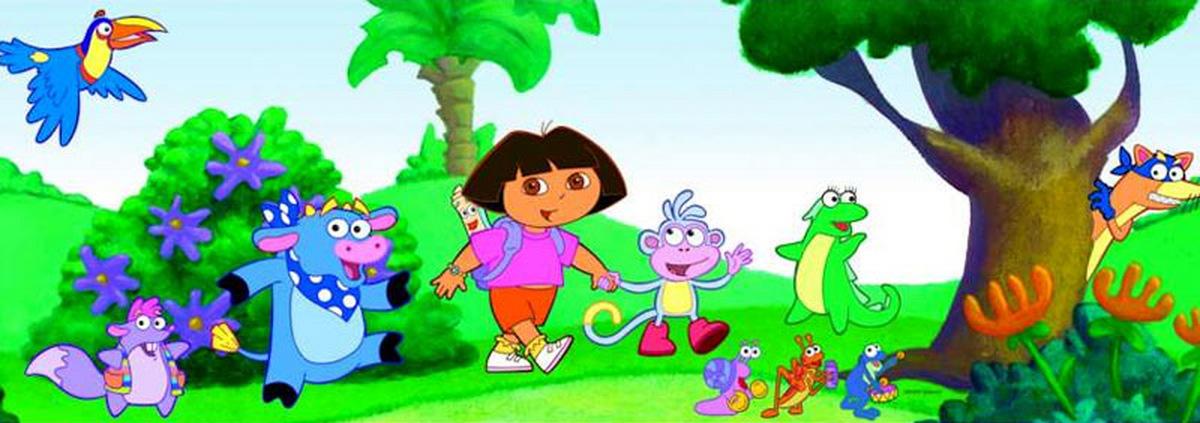 Dora the Explorer: Für Kids: Auf Entdeckungsreise mit Dora und Diego!