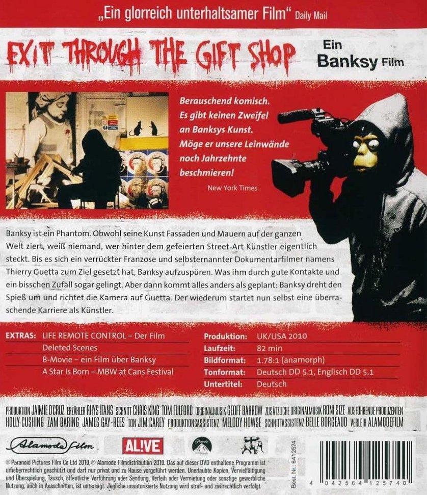 Exit through the gift shop online espanol