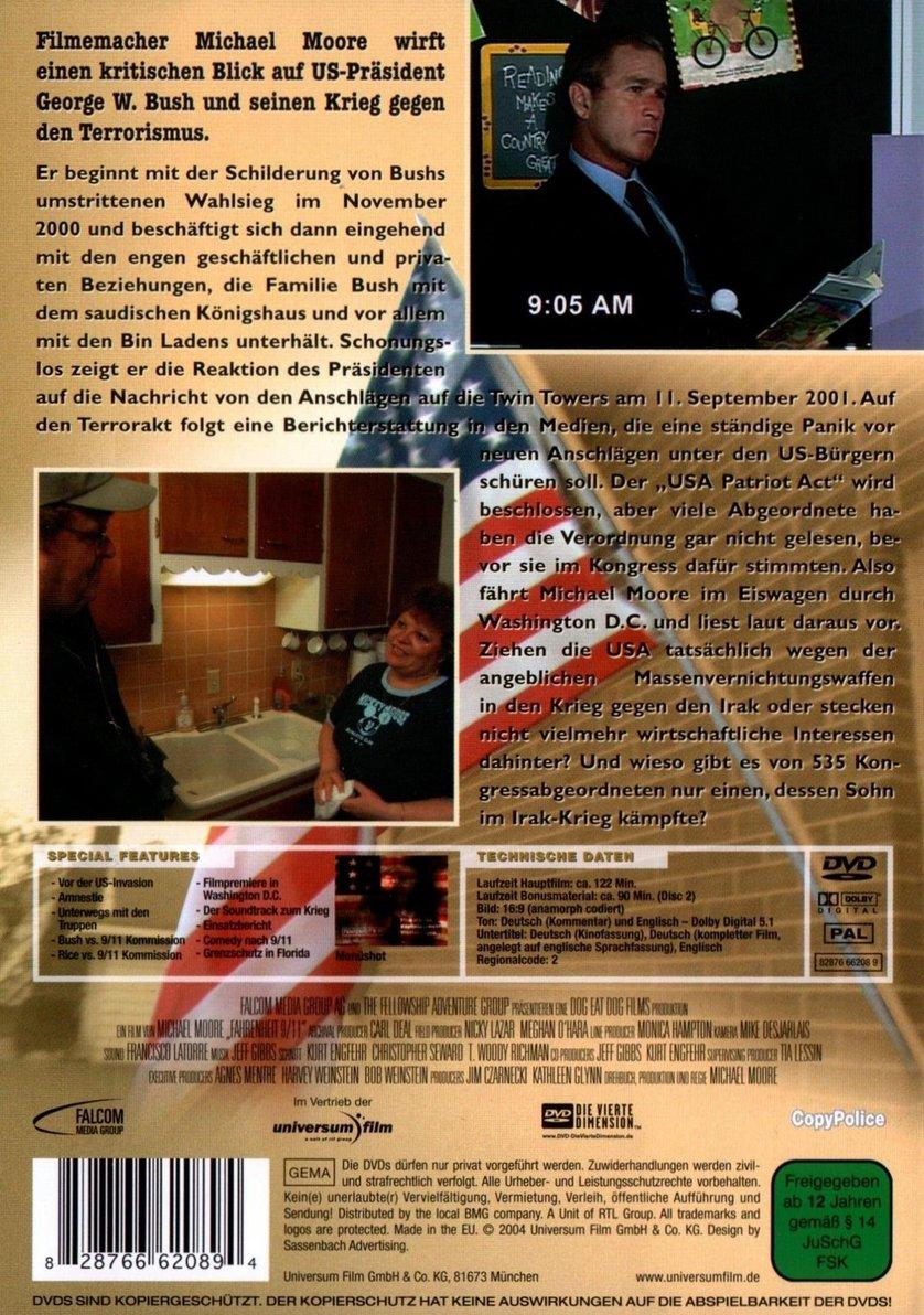 fahrenheit 9/11 deutsch stream