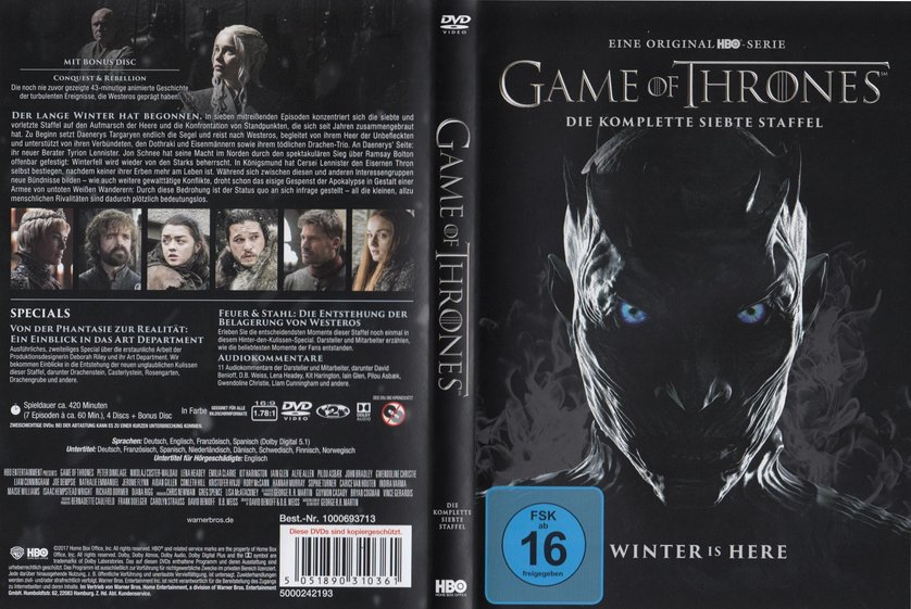 Game Of Thrones Staffel 7 Release