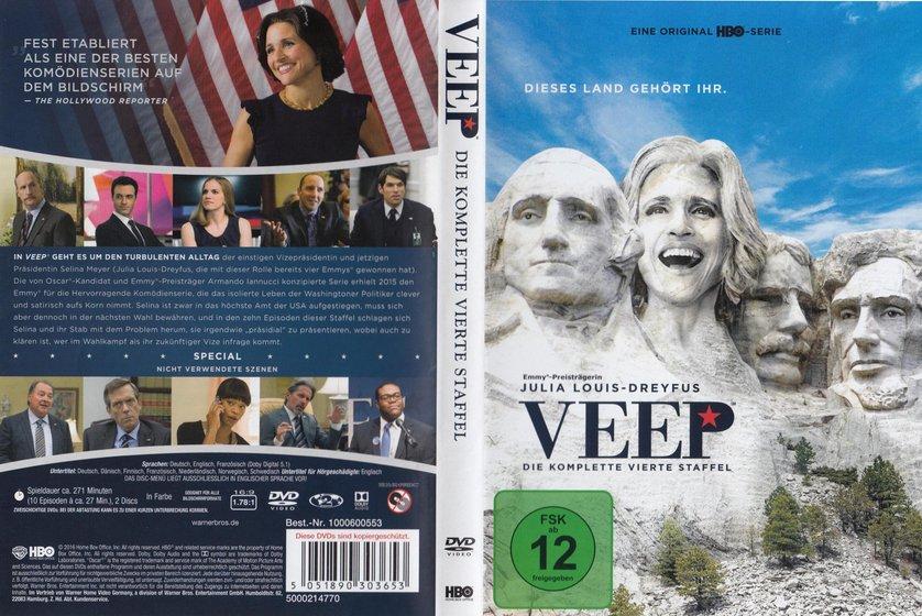 Veep Die Vizepräsidentin Staffel 4 Dvd Oder Blu Ray