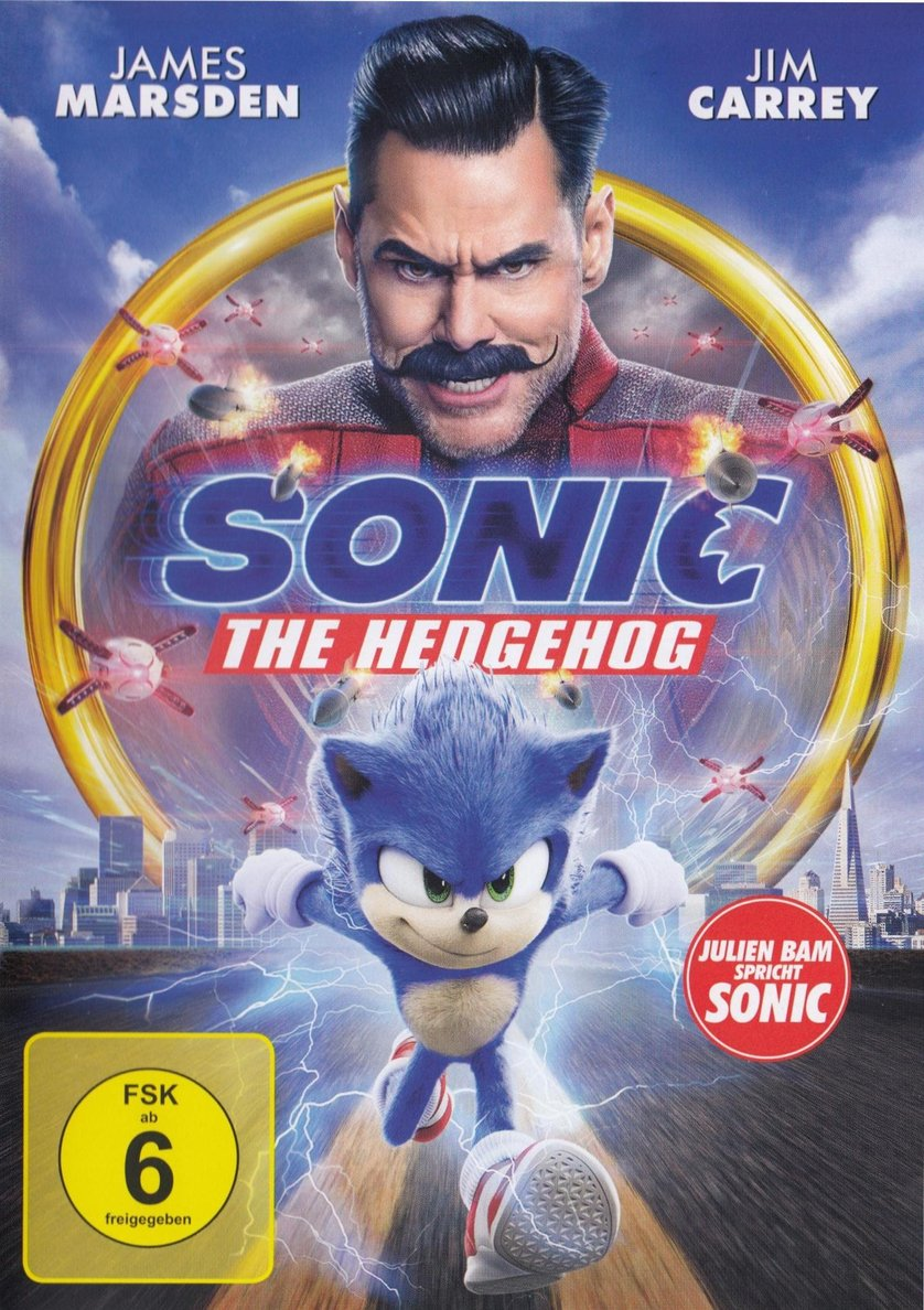 Sonic The Hedgehog Dvd Oder Blu Ray Leihen Videobuster De