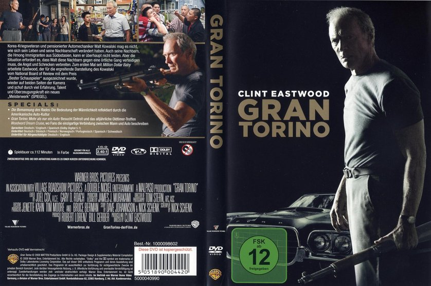 gran torino dvd blu ray oder vod leihen. Black Bedroom Furniture Sets. Home Design Ideas