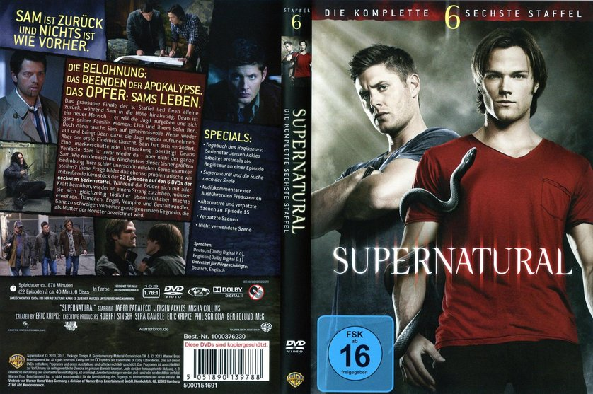 supernatural staffel 6 deutsch