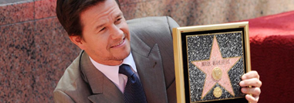 Walk of Fame mit Mark Wahlberg: Früher Pornostar Dirk Diggler, jetzt ein 'Star' in L.A.