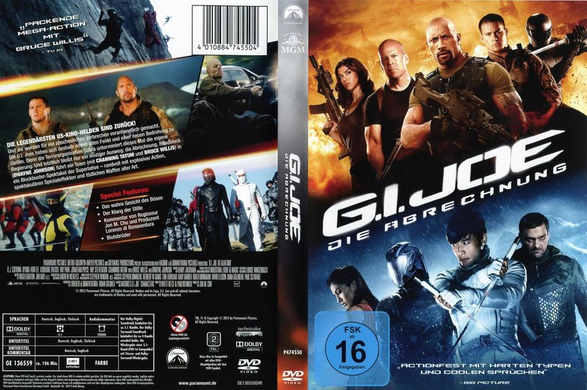 g i joe 2 die abrechnung dvd oder blu ray leihen. Black Bedroom Furniture Sets. Home Design Ideas