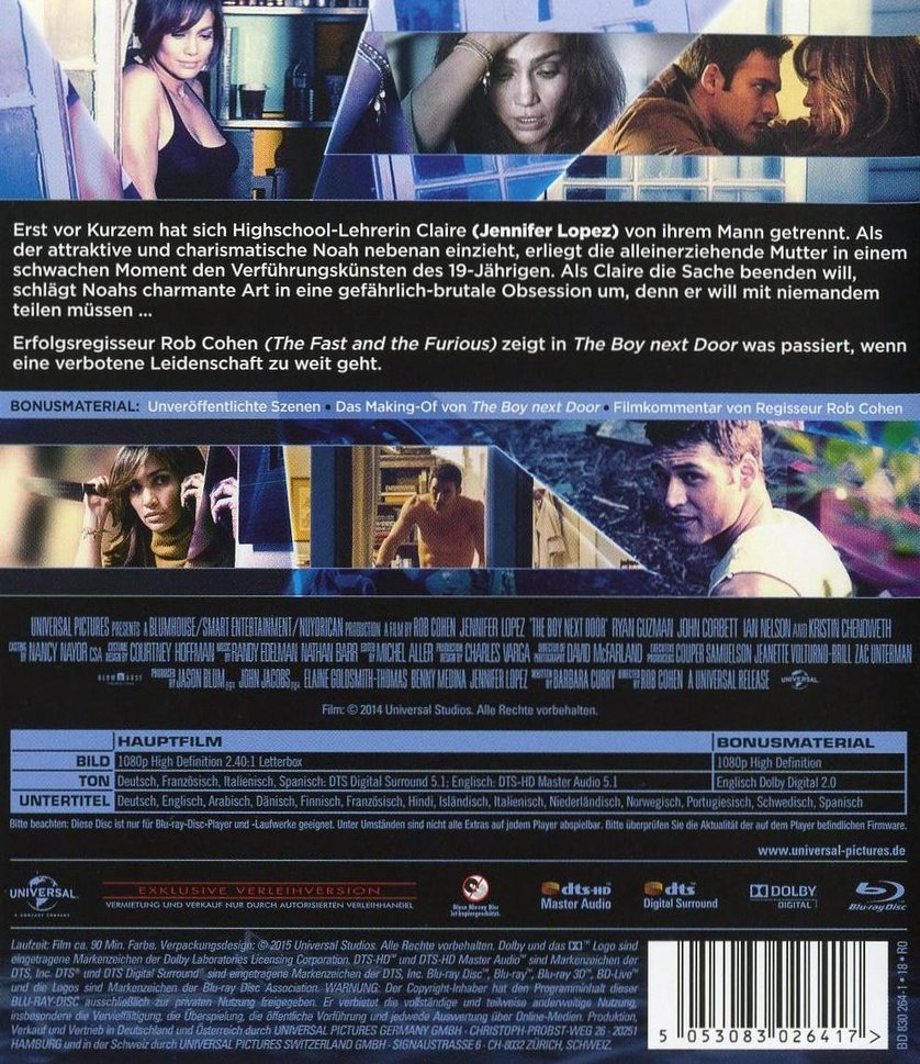 The Boy Next Door Dvd Oder Blu Ray Leihen Videobuster De