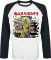Iron Maiden Killers Shatter Langarmshirt weiß schwarz powered by EMP (Langarmshirt)