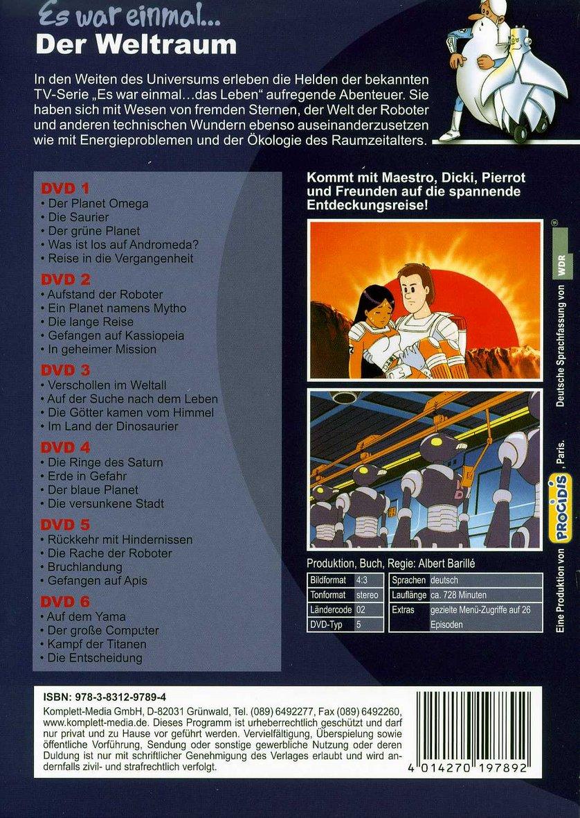 Es War Einmal Der Weltraum Dvd Oder Blu Ray Leihen