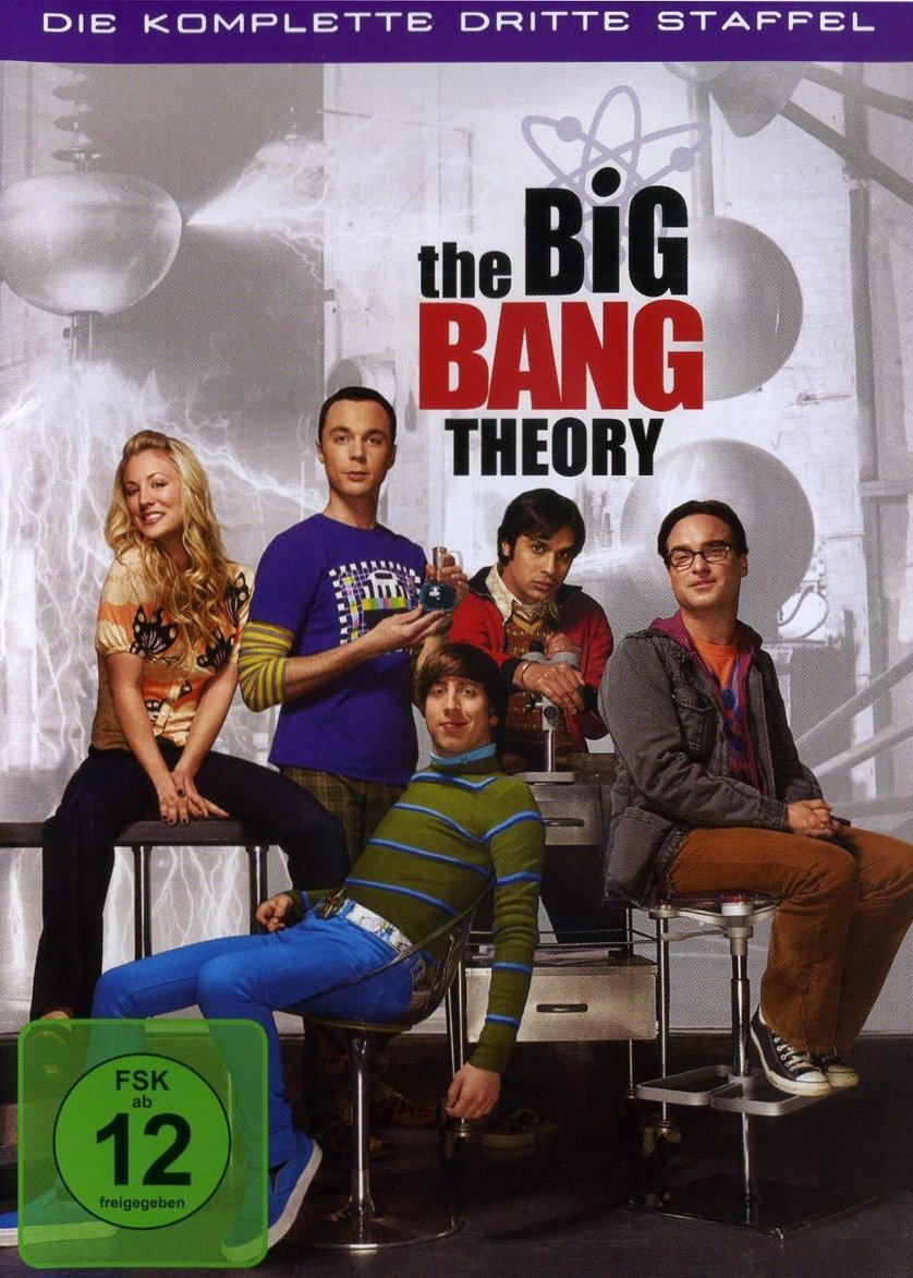 Big Bang Theory Staffel 3