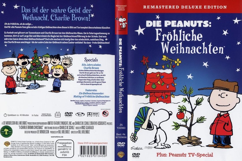 die peanuts fr hliche weihnachten dvd oder blu ray. Black Bedroom Furniture Sets. Home Design Ideas