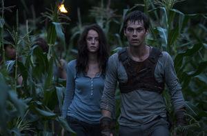 Auf Platz 2: Kaya Scodelario und Dylan O'Brien in 'Maze Runner' © 20th Century Fox